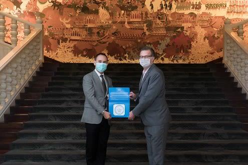 "Anantara Siam Bangkok Hotel Awarded ""The Amazing Thailand Safety And Health Administration: Sha"" Certification"
