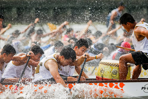 The Second Annual Elephant Boat Race & River Festival Commences in Bangkok