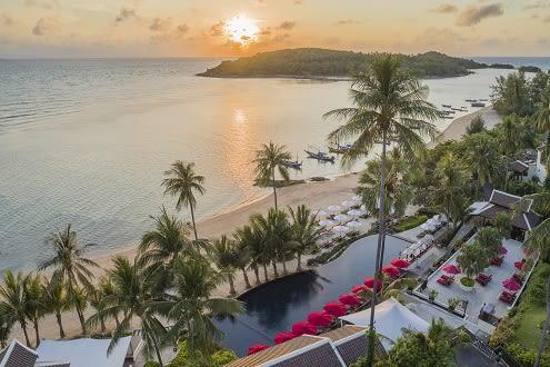 Anantara Lawana Koh Samui Resort Reopens  with a Focus on Family Fun