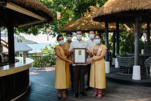 Cheers for Anantara Lawana Koh Samui Resort for Receiving Wine Spectators 2021 Award of Excellence
