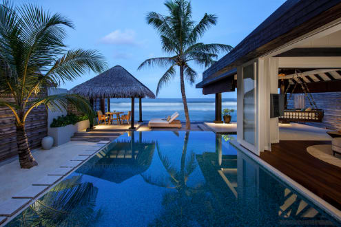 Naladhu Private Island Maldives Named #1 Top Resort in Indian Ocean & #4 Best Resort in the World  in 2021 Conde Nast Traveler Readers' Choice Awards
