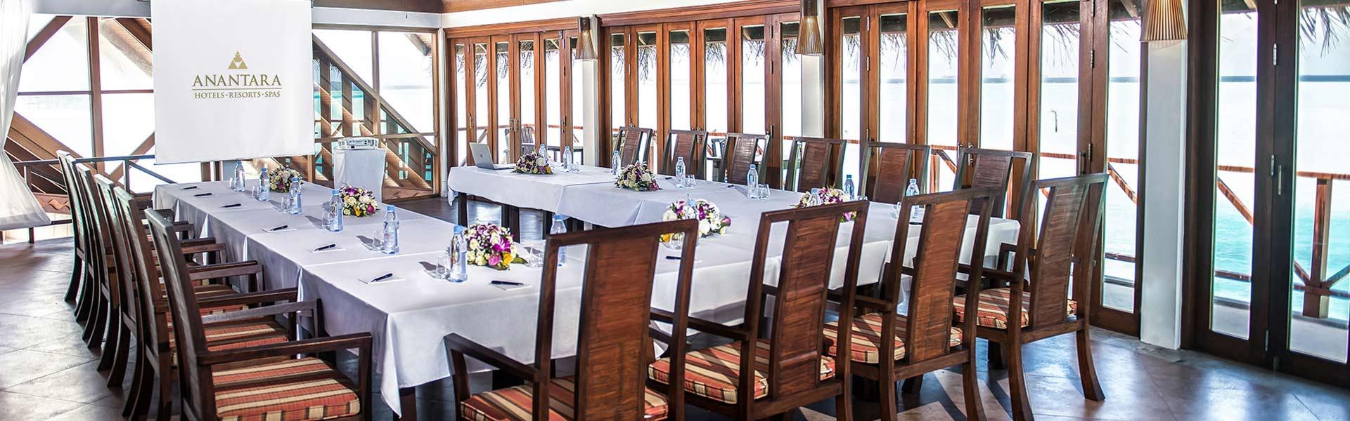Meeting Rooms at Anantara Dhigu Family Resort