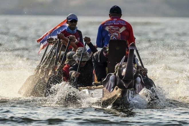 Anantara Hotels Announces Thailand's Inaugural  Elephant Boat Race & River Festival