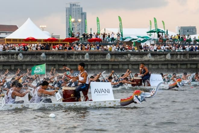 Stay at Anantara Riverside Bangkok Resort and Get VIP Access to Thailand's Exciting Elephant Boat Race and River Festival