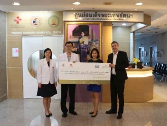 Anantara Donates to the HRH Princess Sirindhorn Craniofacial Center at Chulalongkorn Hospital