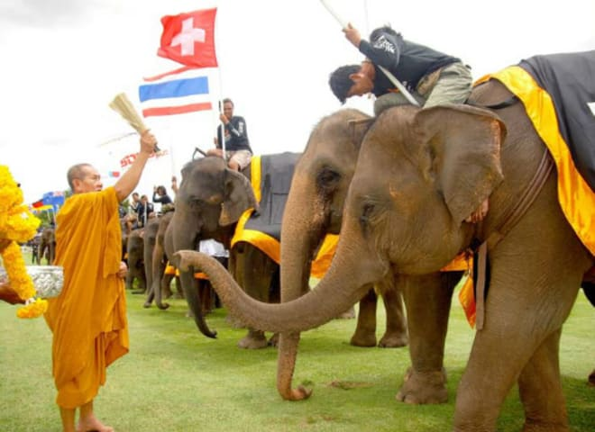 Anantara Announces Dates to Bangkok's 2017  King's Cup Elephant Polo Tournament