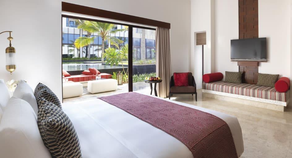 Modern Room with Garden View at Anantara Oman Resort