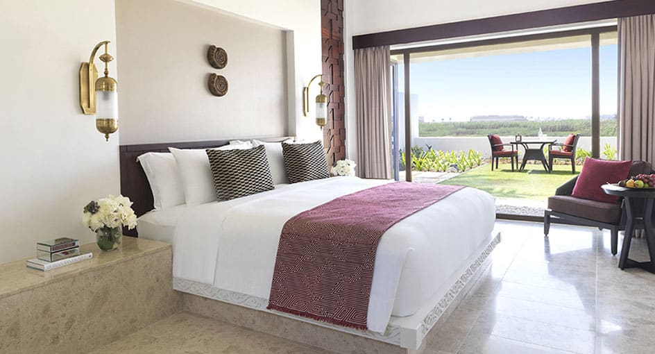 One Bedroom Lagoon View Villas at Anantara Oman with Outdoor Seating Spaces