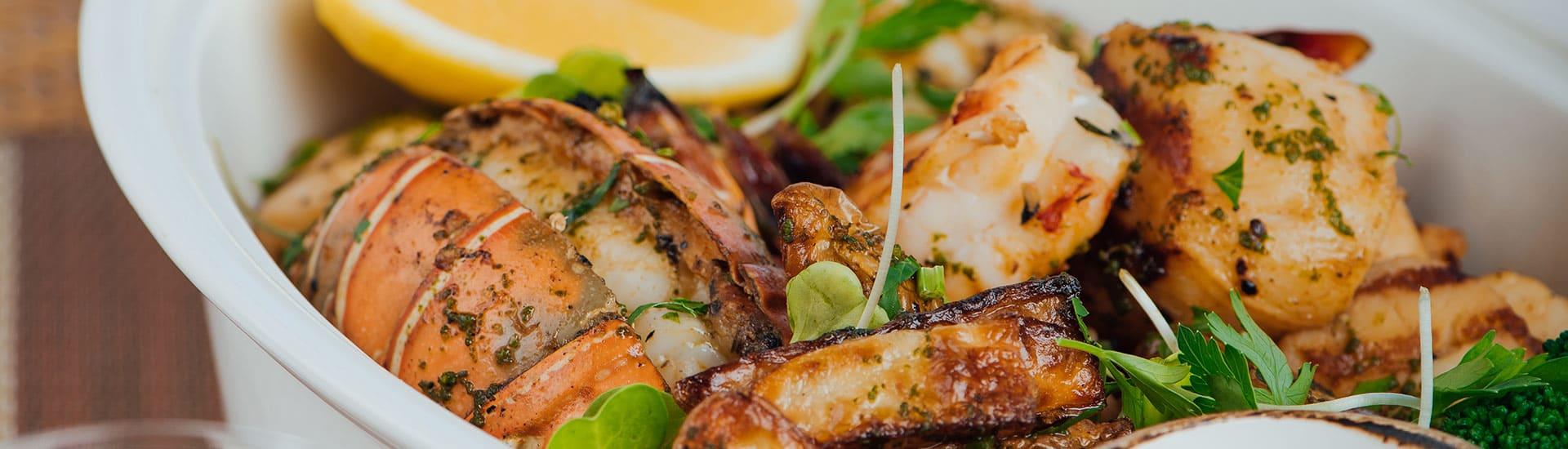 Delicious Seafood Cuisine at Al Mina Restaurant of Anantara Oman