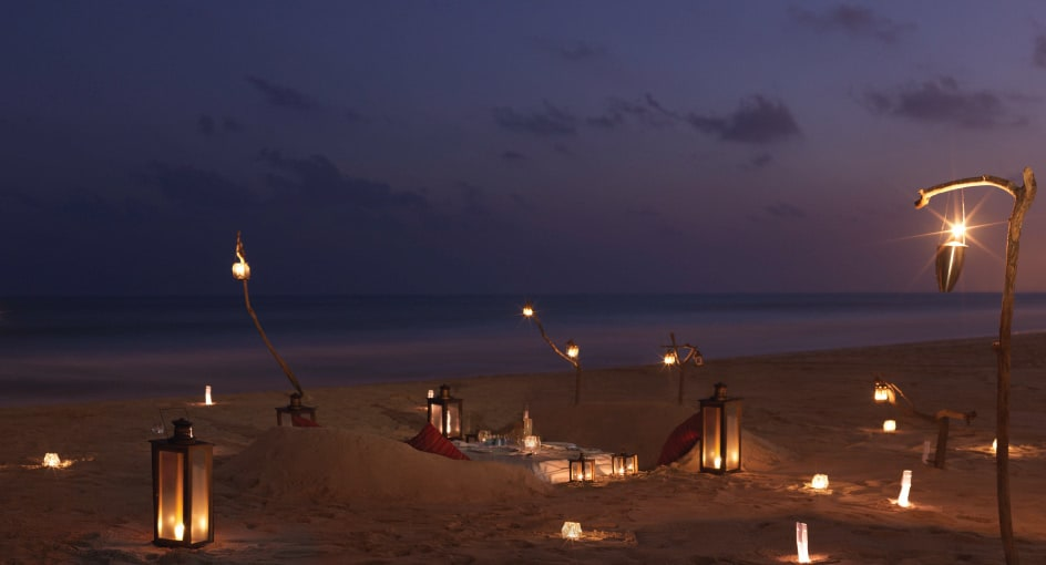 Private Dining Experience on the Salalah Beach in Oman