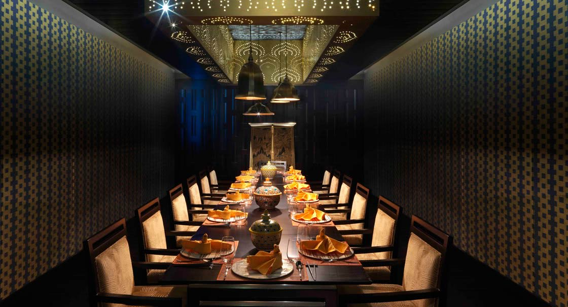 Dining Setup at Mekong Restaurant in Oman