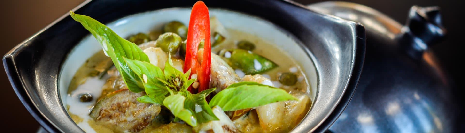 Gaeng Kiew Wan Gai Dish from Mekong Restaurant
