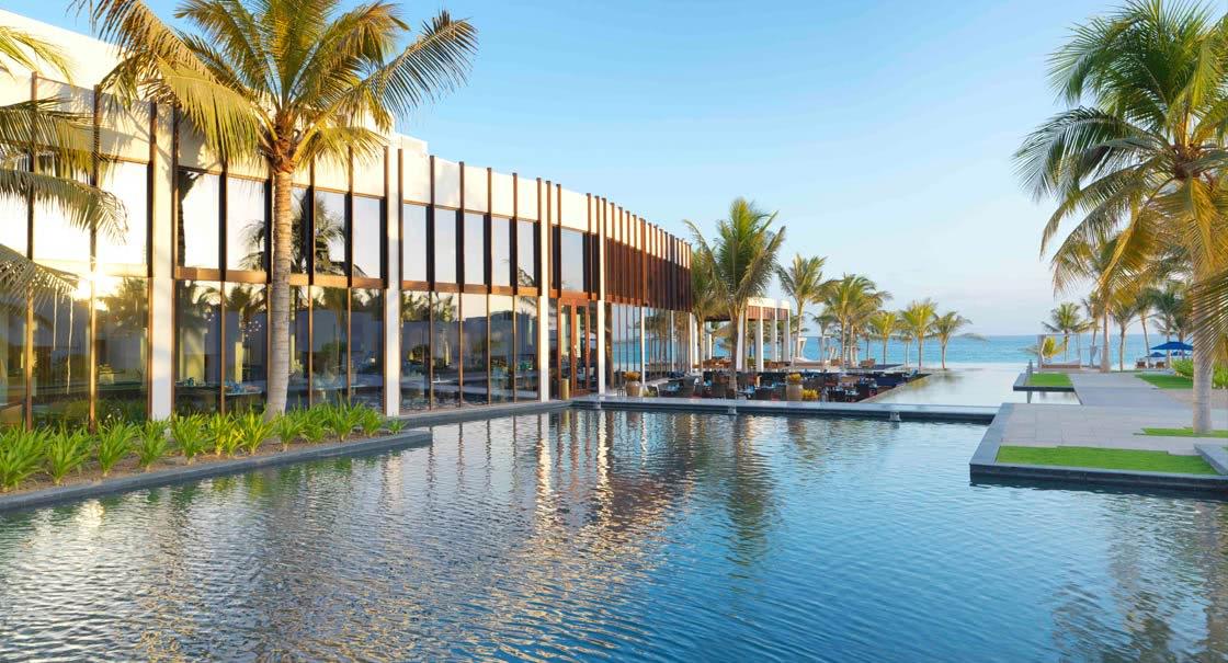 Outdoor View of Sakalan Restaurant of Anantara Oman Resort