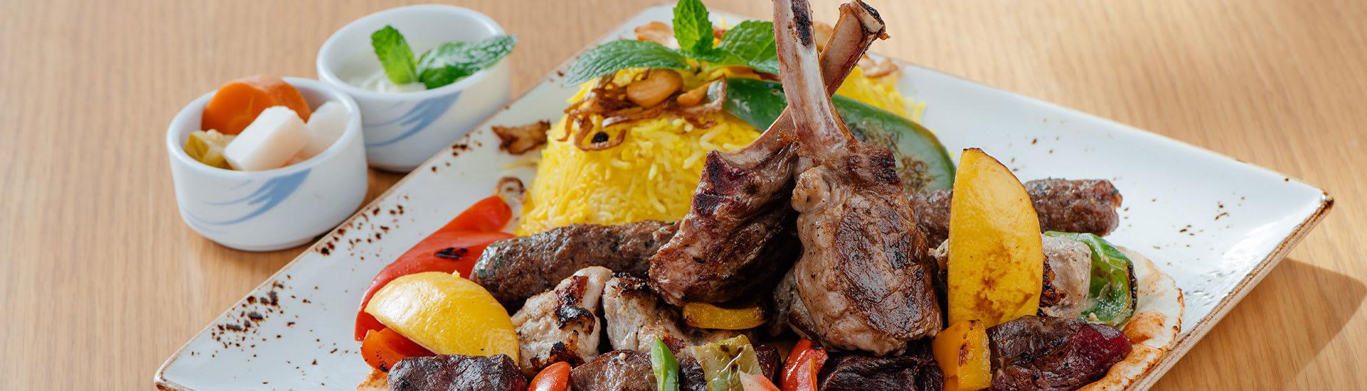 Delicious Dish at Sakalan Restaurant Anantara Salalah Oman