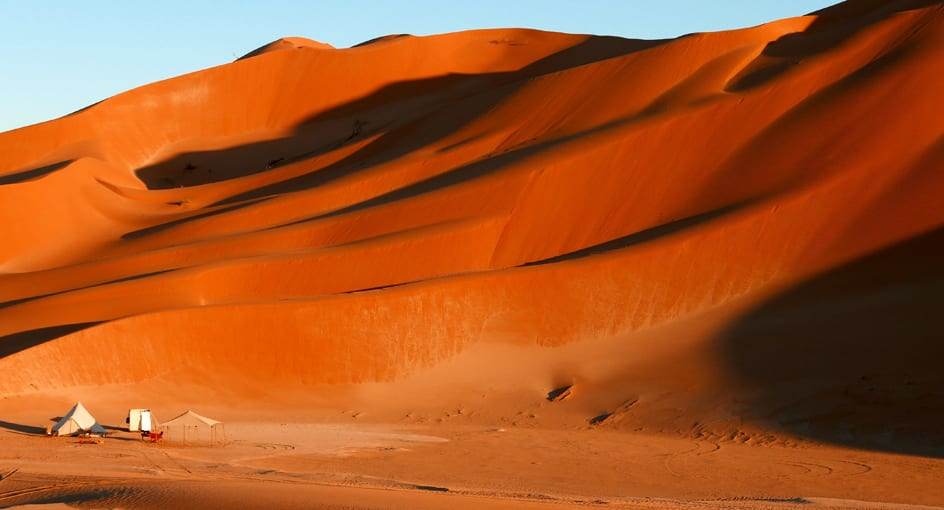 Desert Camping Experience in Oman