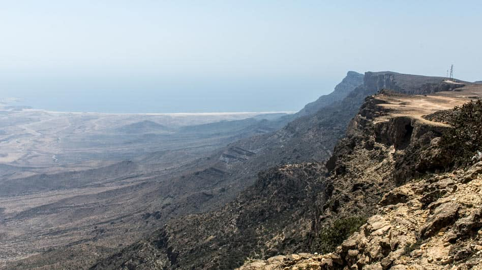 Trekking Experience on Top of Mountains in Oman