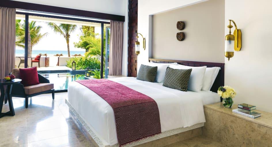 Beach View Villas with Private Pool at Anantara Salalah