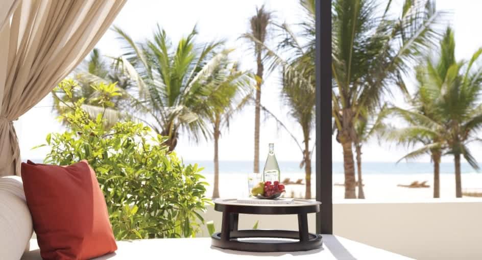 Comfortable Lounges at Anantara Salalah Overlooking the Oman Ocean