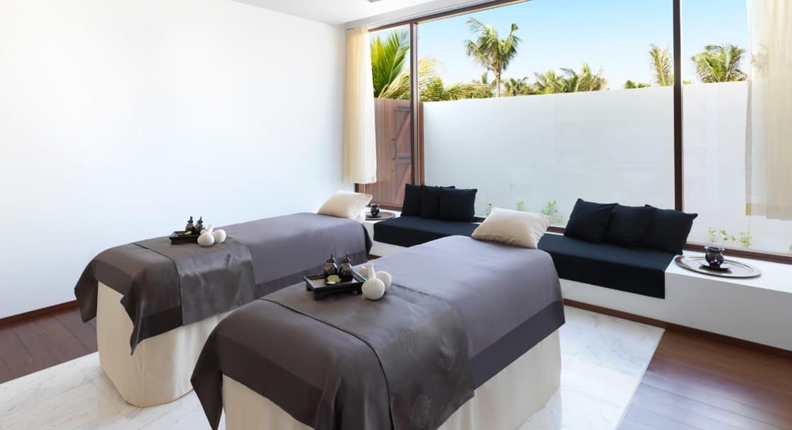 Couple Spa Treatment Room at Anantara Oman Resort