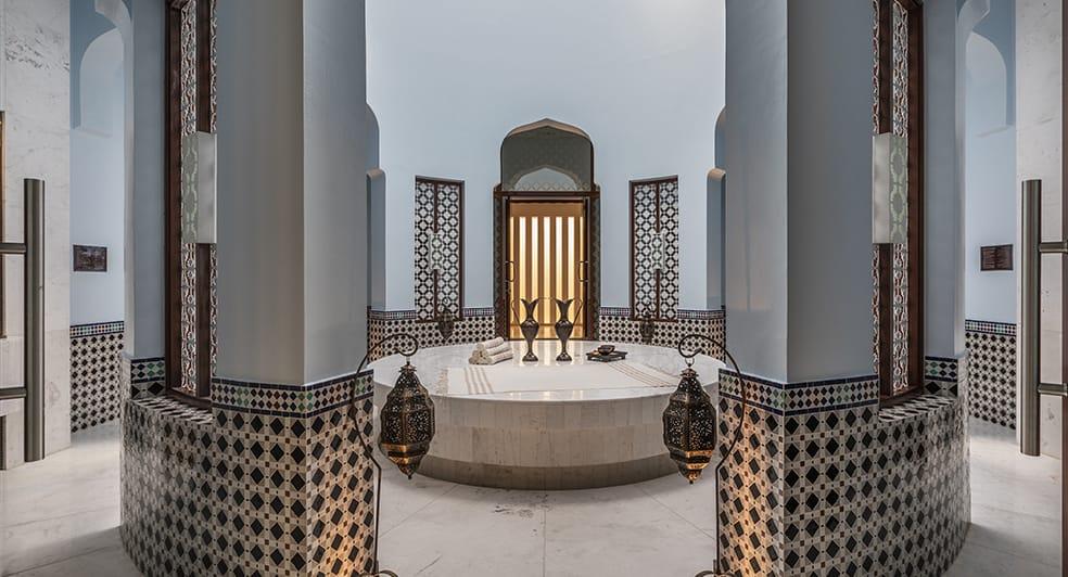 Hammam Therapy Room at Anantara Oman