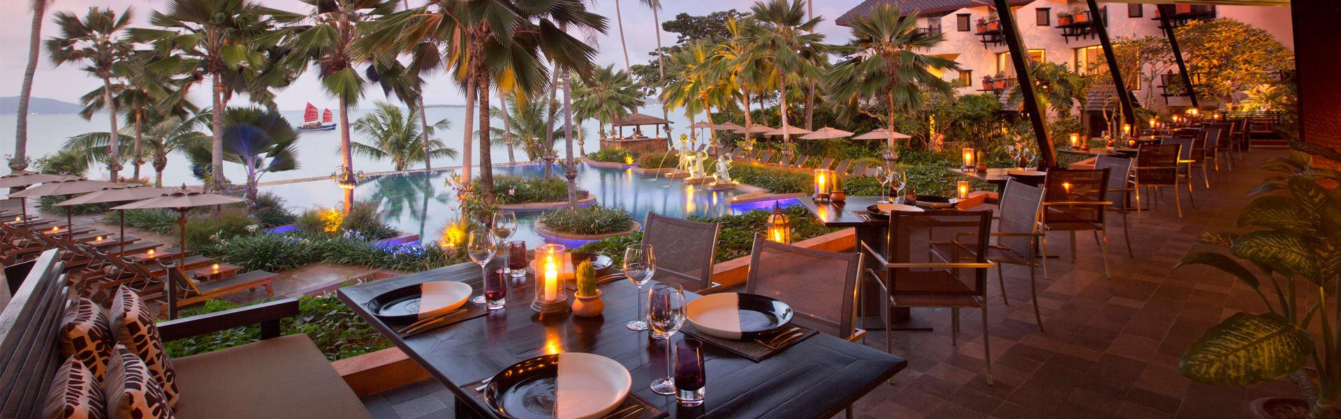 Restaurants In Koh Samui Dining At Anantara Bophut Resort