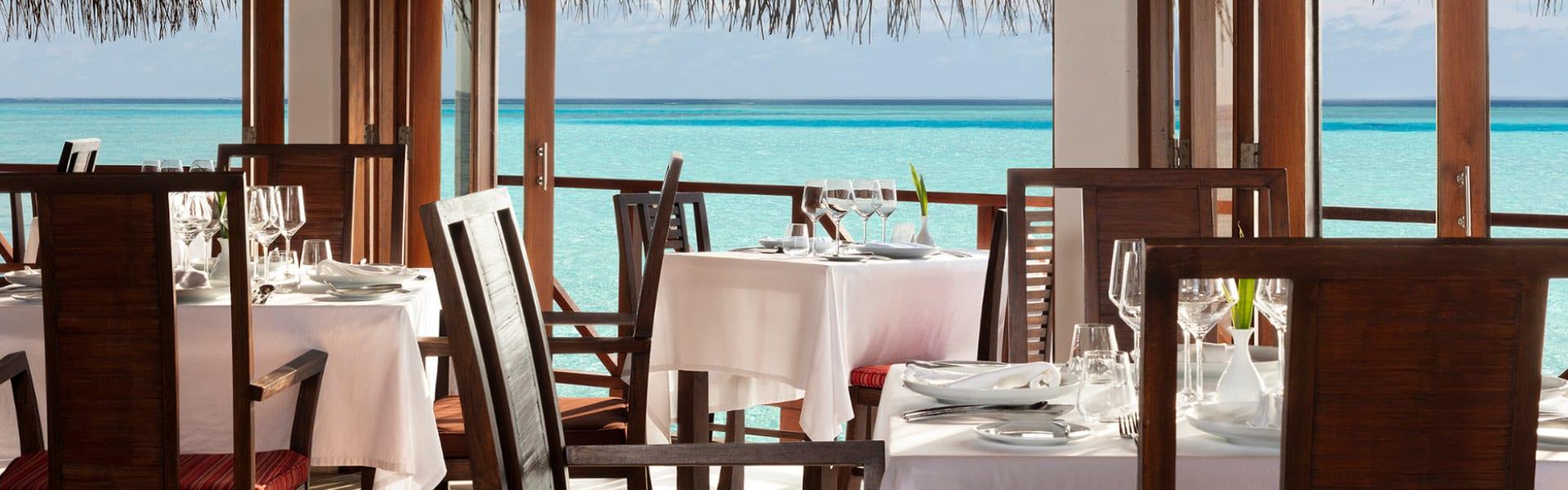 Italian Restaurant In Maldives Italian At Anantara Dhigu