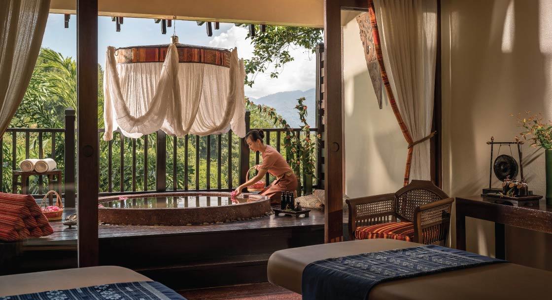 Lanna Resort | Luxury Spa at Anantara Golden Triangle Resort