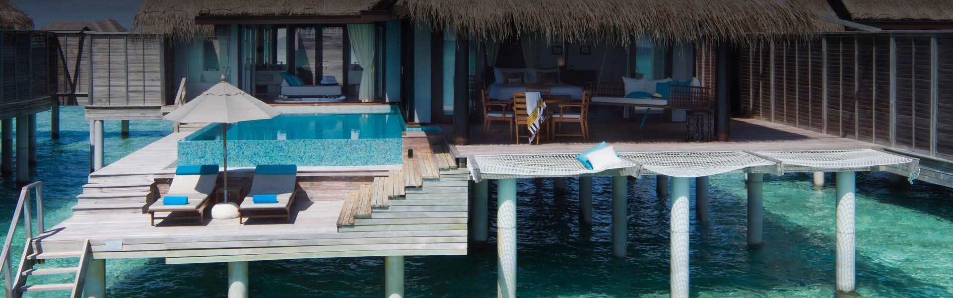 Sunset Overwater Pool Villas