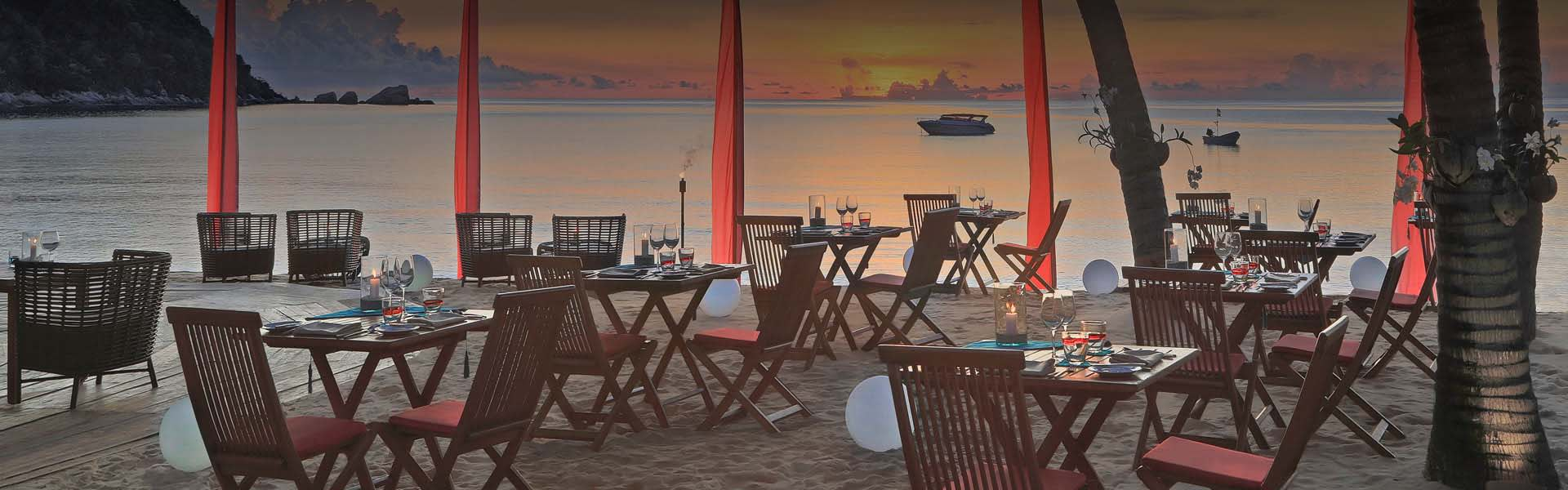 Restaurants in Koh Phangan | The Bistro @ The Beach