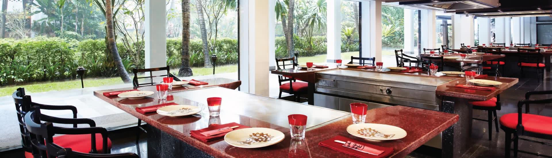 Japanese Restaurants Riverside Benihana Bangkok Restaurant