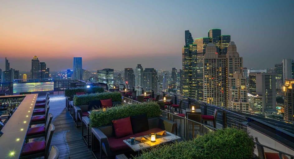 Bangkok Rooftop Restaurant   ZOOM Sky Bar & Restaurant at