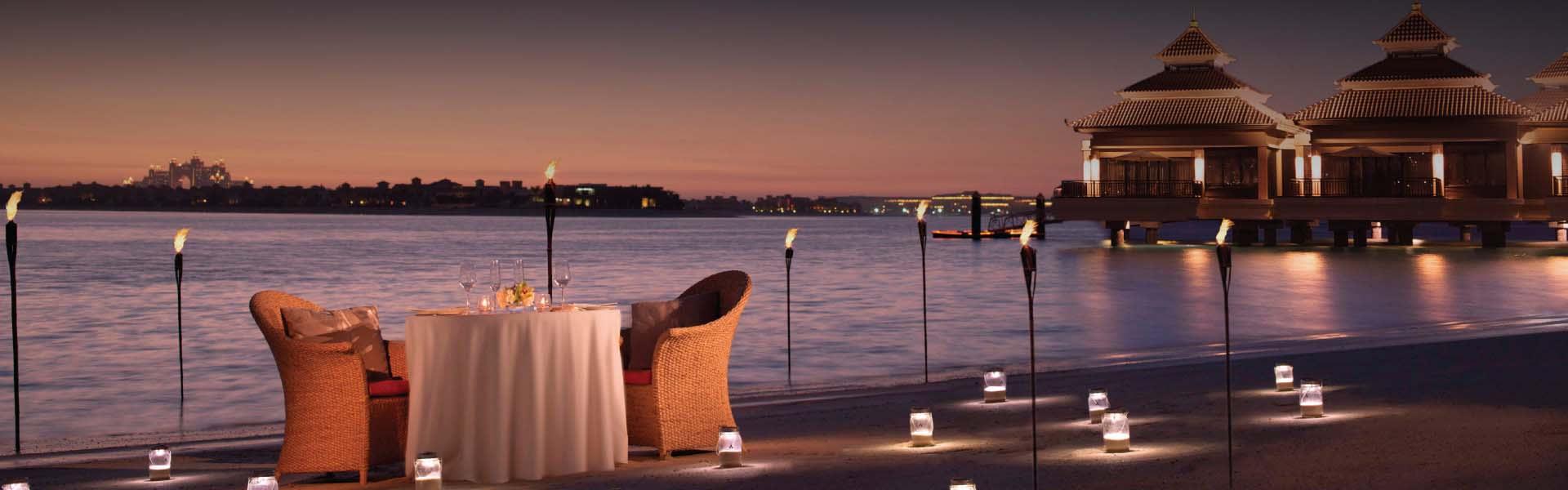 Romantic Dining Dubai Dining By Design At Anantara Dubai