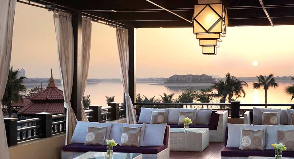 Palm Jumeirah Beach Hotels | The Lotus Lounge at Anantara