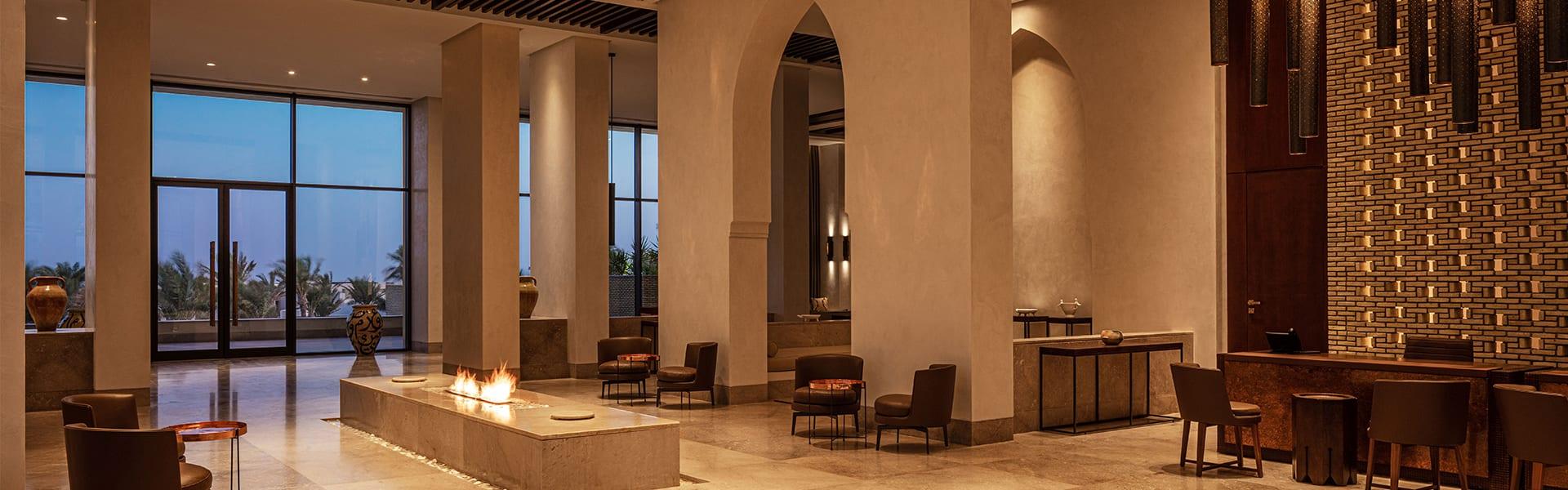 Cafes In Tunisia Anantara Tozeur Resort Lobby Lounge