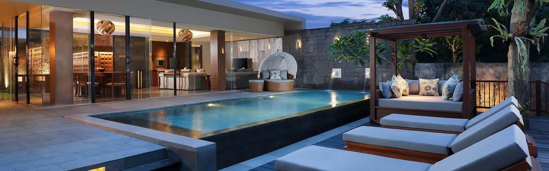 Uluwatu Villas Three Bedroom Garden Pool Villa At Anantara Uluwatu