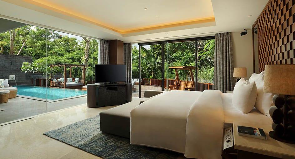 Bali Luxury Resorts Two Bedroom Garden Pool Villa At Anantara Uluwatu