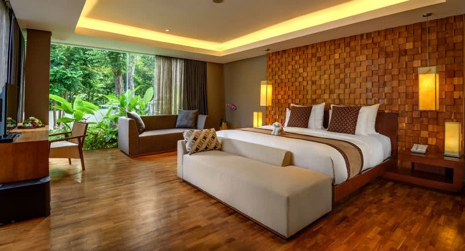 Bali Luxury Resorts Two Bedroom Garden Pool Villa At
