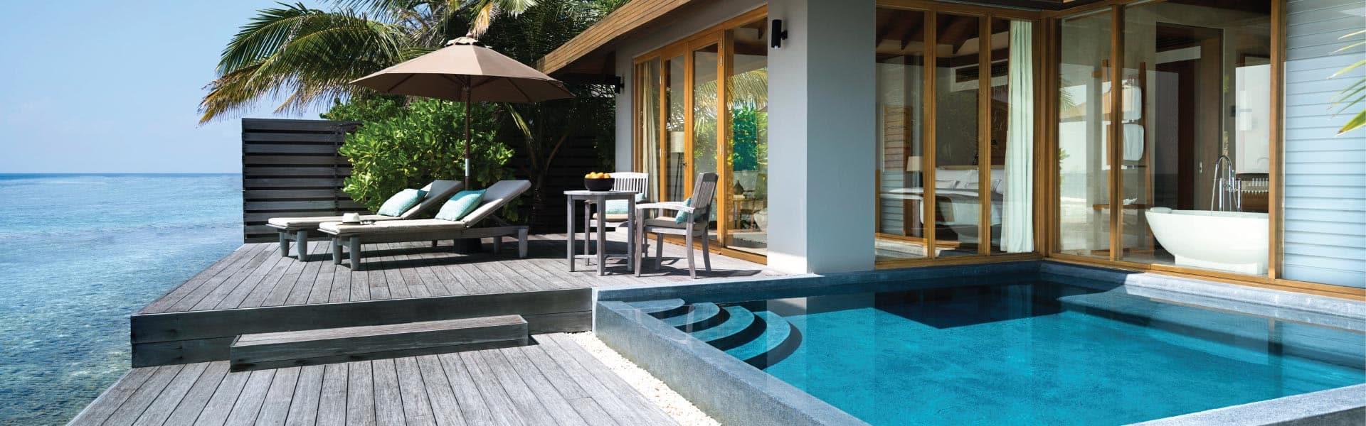 Honeymoon Villas In Maldives Anantara Veli Adults Only Resort Maldives