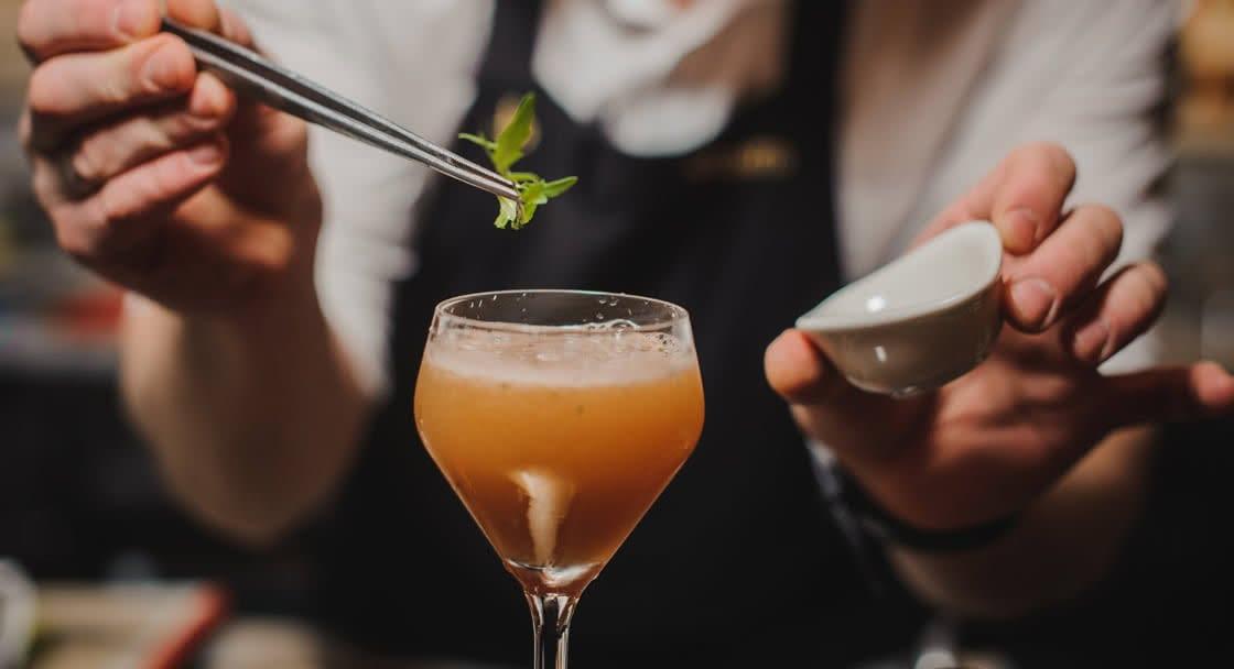 Delicious Cocktails at Al Burj Italian Restaurant in Oman