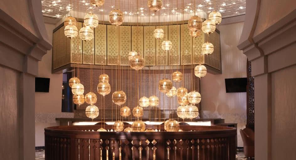 Interior Design of Al Burj Nizwa Restaurant in Oman