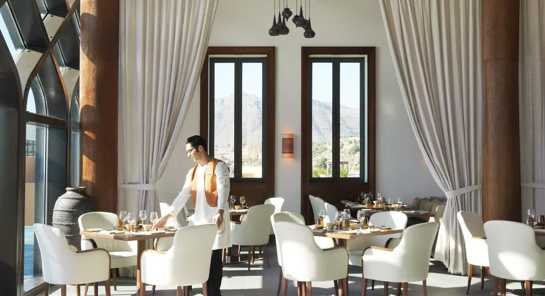 Seating Arrangements of Al Maisan Oman Restaurant