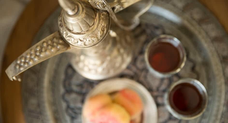In-room Dining Facilities at Anantara Jabal Oman