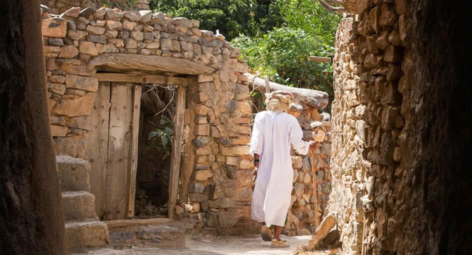Village near Al Jabal Al Akhdar Resort