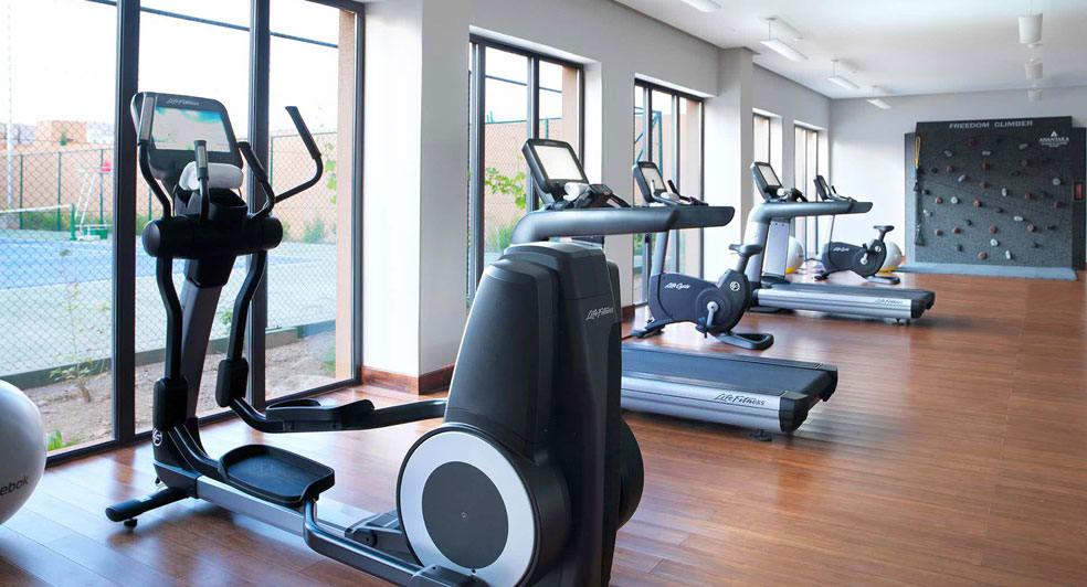 Modern Fitness Centre at Al Jabal Al Akhdar Resort