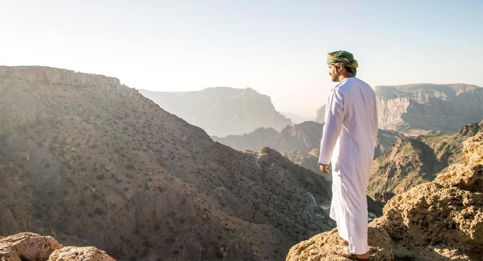 Village Trail Hike on Top of Oman Mountains