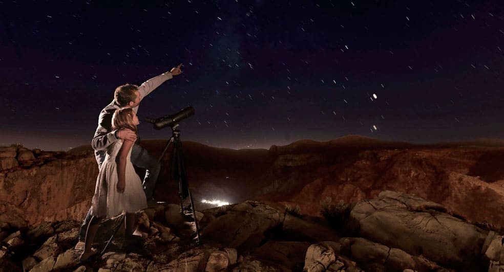 Stargazing Experience on Top of Green Mountains in Oman