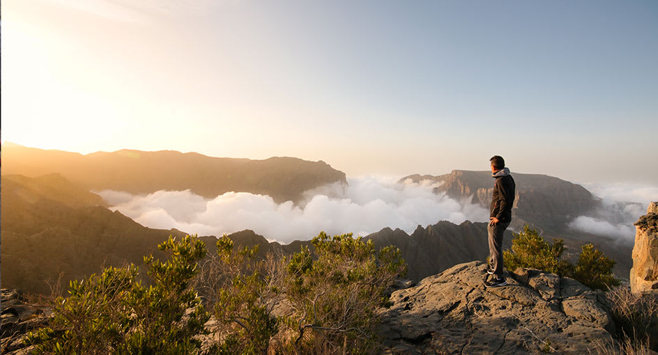Hike Above the Clouds Experience with Anantara Al Jabal Al Akhdar