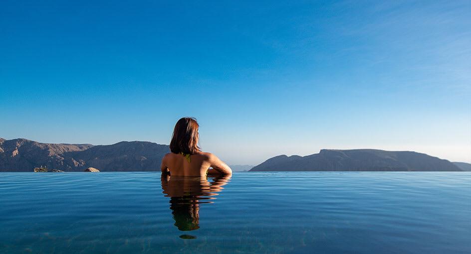 Luxury Infinity Pools in Nizwa Oman