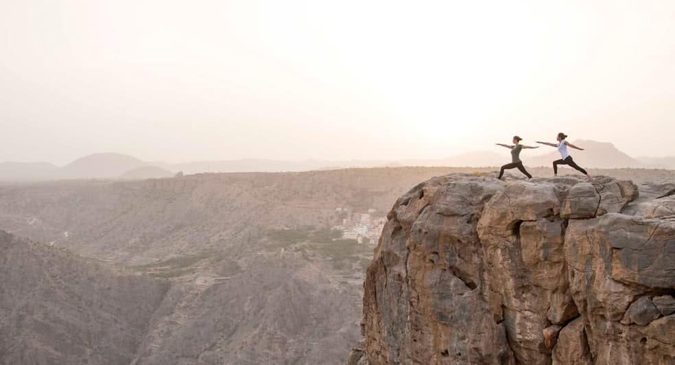 Mountain Yoga Experience for Couples in Oman