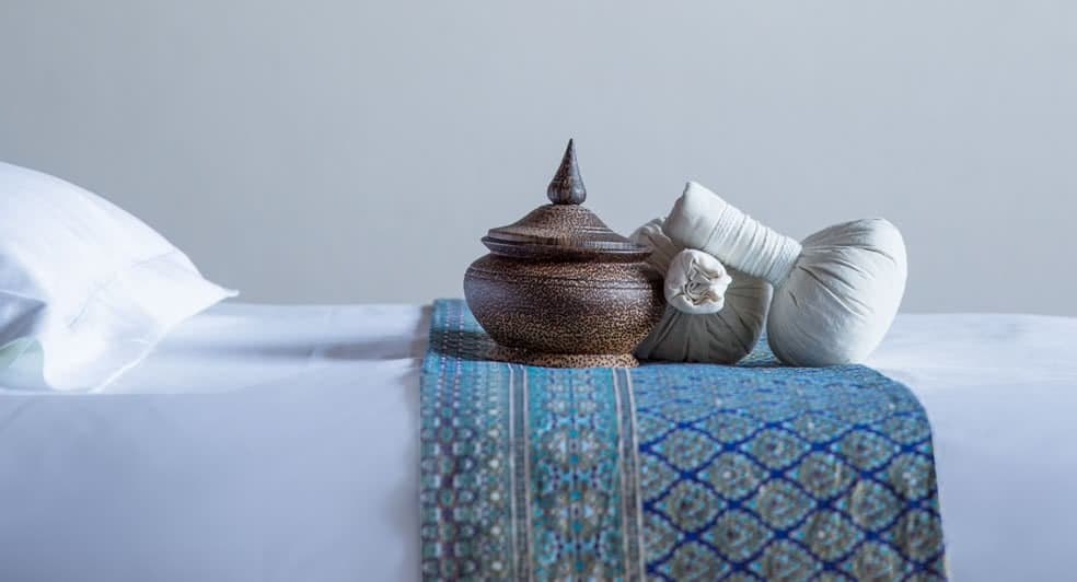 Thai Herbal Poultice Single Massage Treatment at Anantara Jabal Oman